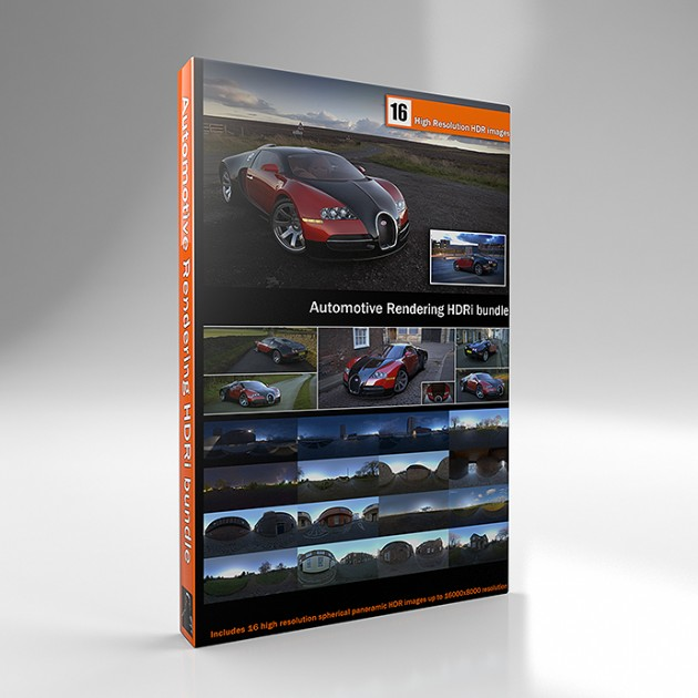 Automotive Rendering Pack Vol 1