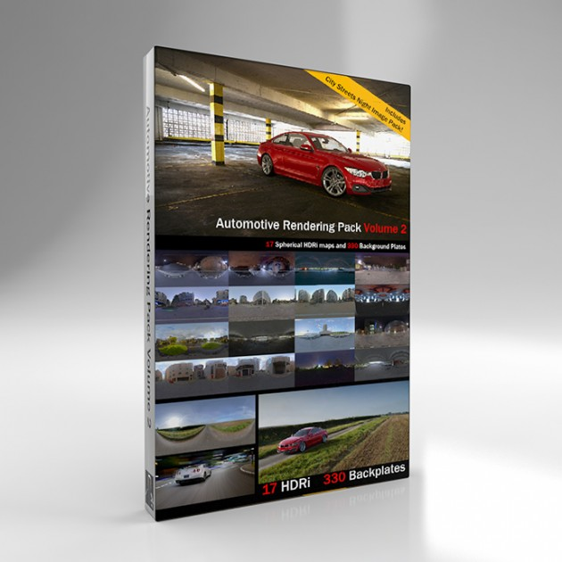Automotive Rendering Pack Vol 2