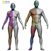 Male and Female Base Mesh Bundle