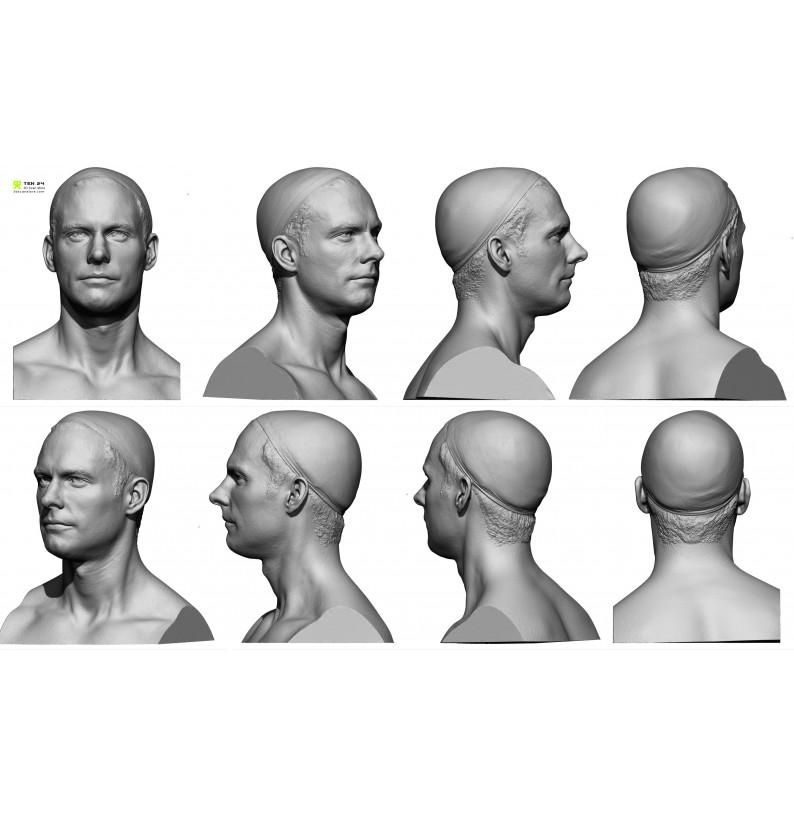 Male 05 Head Scan Cleaned