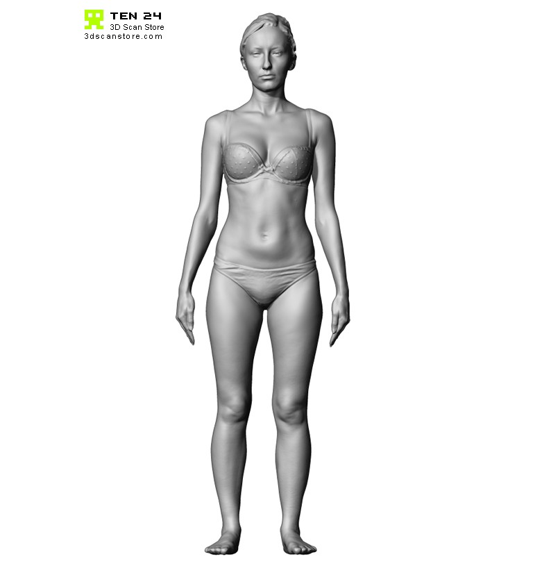 Shaded Female 03 Pose 1