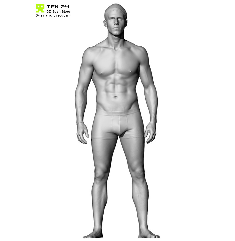 Male Anatomy Bundle 01