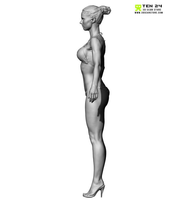 Shaded Female 04 Pose 07
