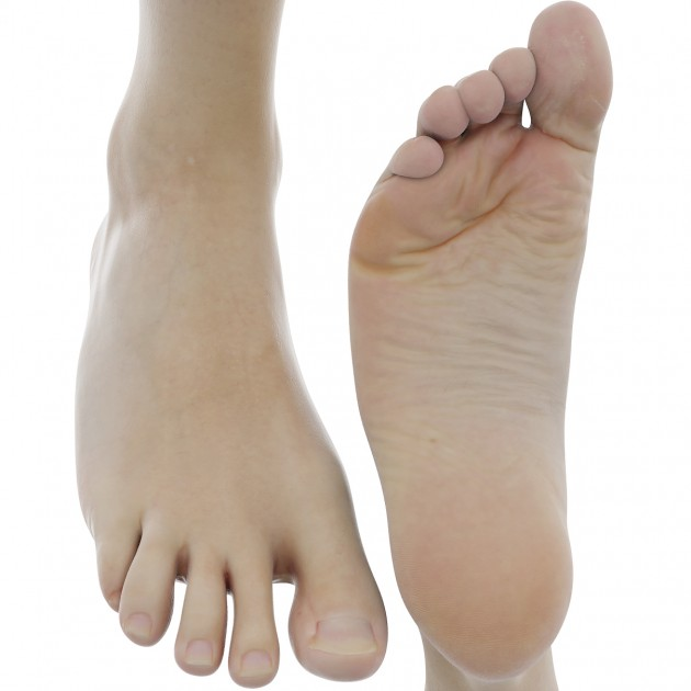Male Foot Pack