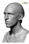Male 10 Head Scan Cleaned