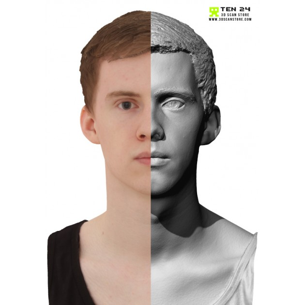 Male 15 Head Scan Cleaned