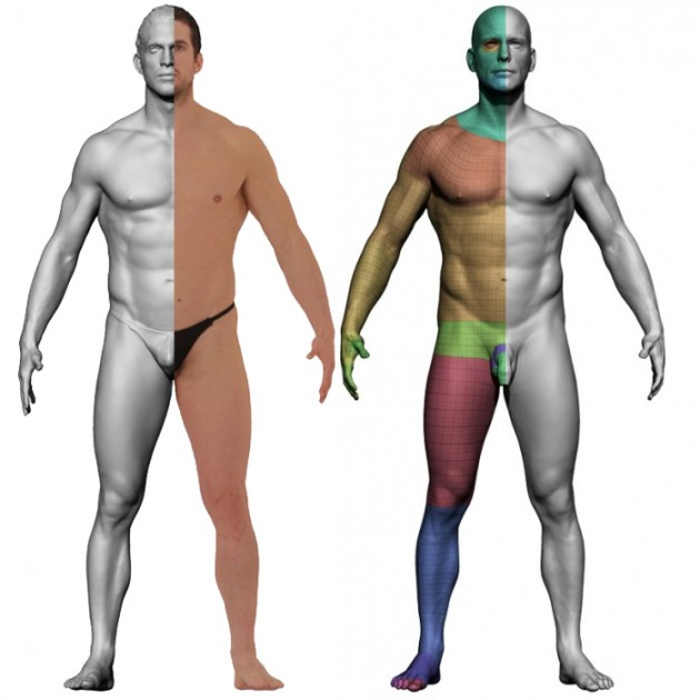 Male Retopology Kit