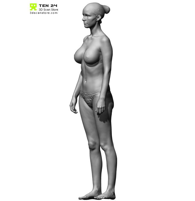 Shaded Female 02 Pose 2-5987